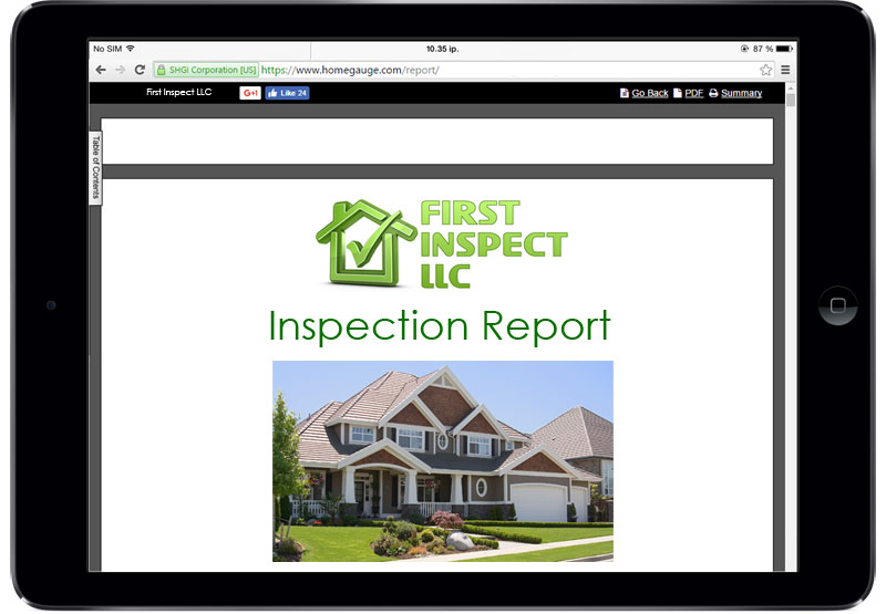 Home - First Inspect, LLC